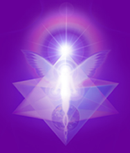 Violet light merkaba enlightenment